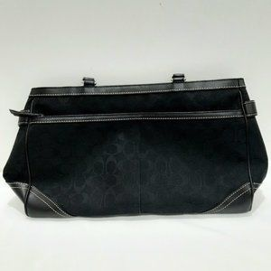 Coach Large Black Shoulder Handbag